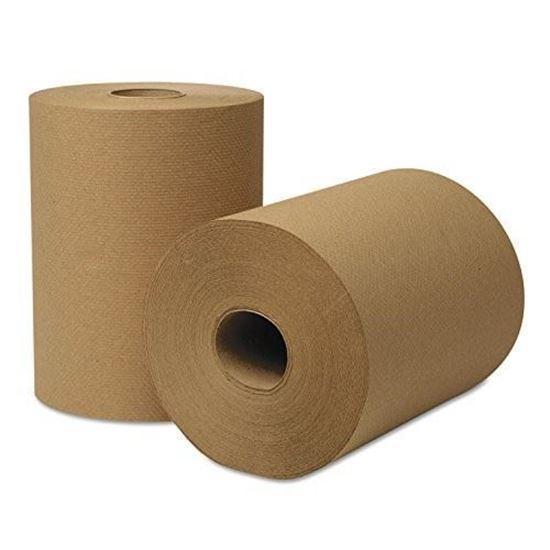 Picture of Brown Hand Towel (8x350/12Rolls/cs)