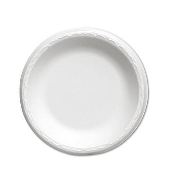 "Picture of 9"" Foam Plate 1 compartment  (125/4) Bulk"