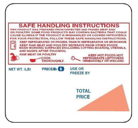 Picture of 1711 Toledo 325 UPC Labels (30 Rolls/cs) CN