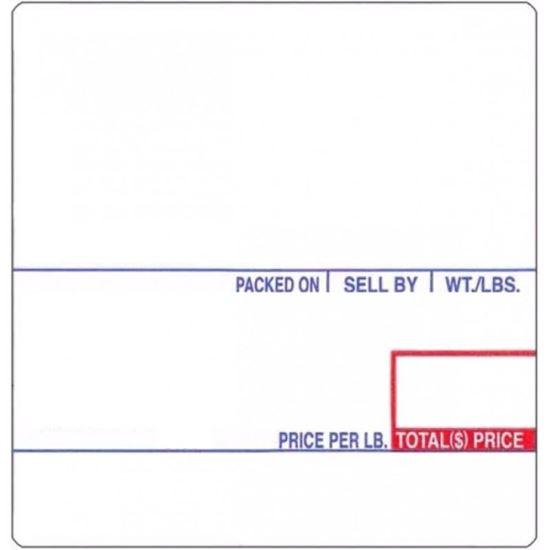 Picture of 8020 CAS Labels (12 Rolls/cs)