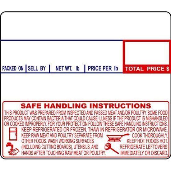 Picture of 8040 CAS Labels (12 Rolls/cs)