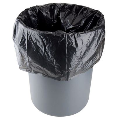 "Picture of 46"" Black Garbage Bags (Extra Heavy Duty)"