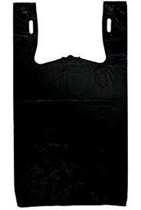Picture of 1/6 Black Grocery Bags(800pc/cs)