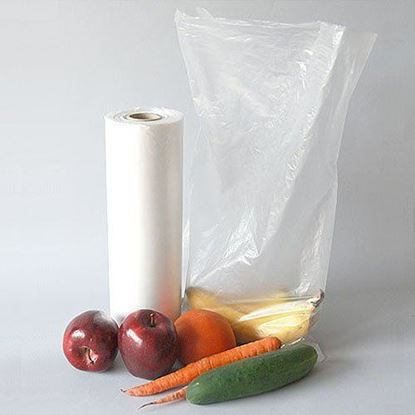 Picture of 12x20 HDPE Clear Produce Roll Bags(20Lbs)