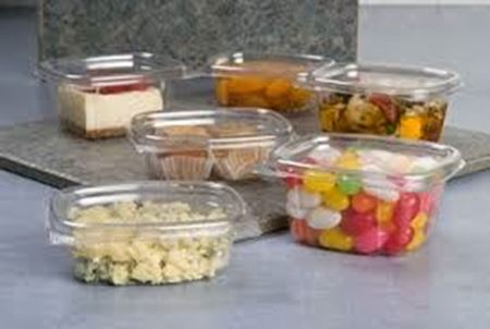Picture for category Plastic Hinged Deli Containers