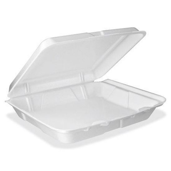 Picture of 993 One Foam Lunch Box (9.25x9.25x3)