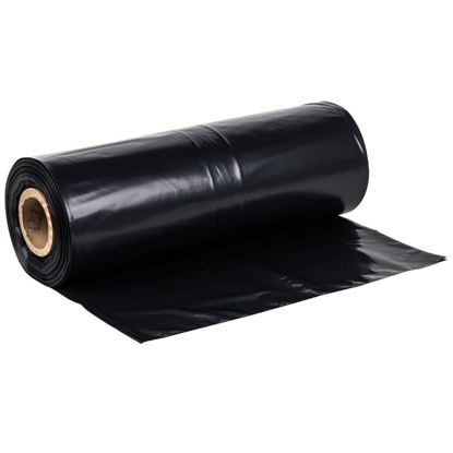 Picture of 40x48 LDPE Black Trash Bags (1.3Mil/5 Rolls/100)