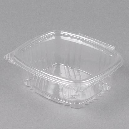Picture of 12oz Clear Hinged Deli Container 200 sets
