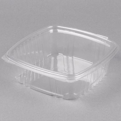 Picture of 32oz Clear Hinged Deli Container 200 sets