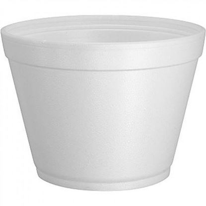 Picture of 12oz Foam Soup Container 12FC20 (500pc)