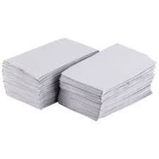 Picture of 15x17 White Dinner Napkins(2Ply)