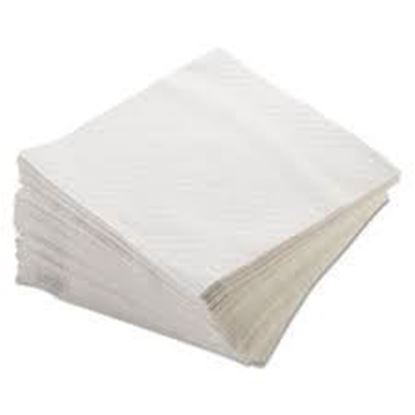 Picture of 17x17 White Dinner Napkins(1Ply)