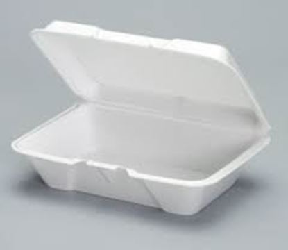 Picture of 206 Foam Lunch Box (9x6.5x2.25)