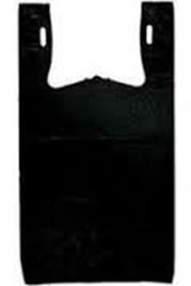 """Picture of 32"""" Jumbo Black Grocery Bags(18Mic/230)"""