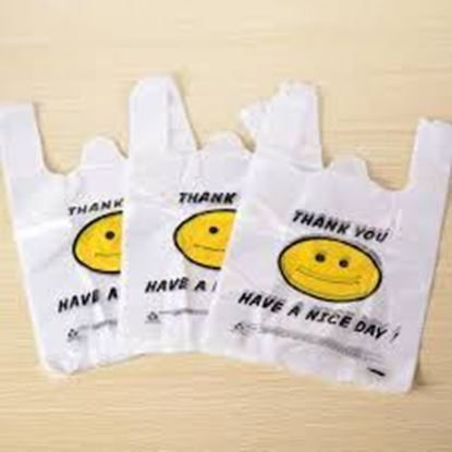 Picture of 1/8 HDPE Med-Size Happy Face Bags