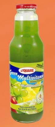 Picture of SQUARE Juice Multivitamin Green 18 fl. oz (12p/cs)