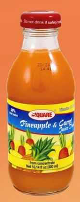 Picture of SQUARE Juice Pineapple & Carrot 10.14 fl. oz (15p/cs)
