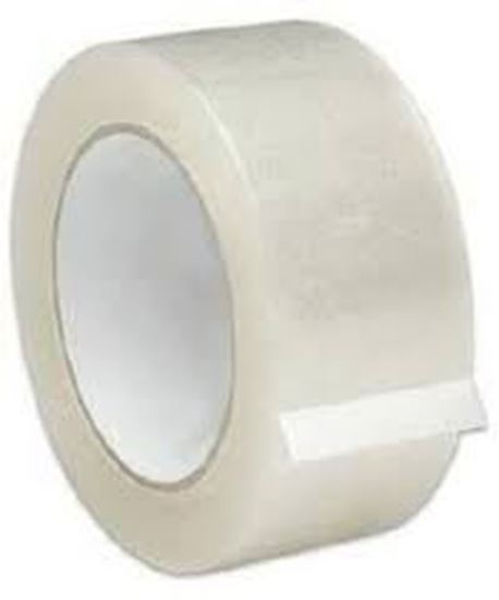 """Picture of 3""""x110' Clear Plastic Tape(24Rolls/cs)"""