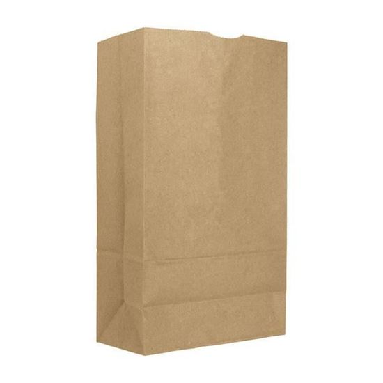 Picture of #8 LD Brown Paper Bag (500pcs)