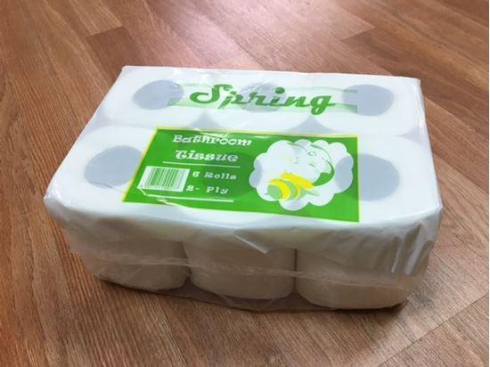 Picture of Bathroom Tissue Retail Packaging  48 Rolls (6rolls/8pk/cs)