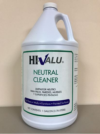 Picture of Hi-Valu 1 Gal Neutral Cleaner (4Gal/Case)