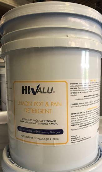 Picture of Hi-Valu 5 Gal Dro Lemon Detergent