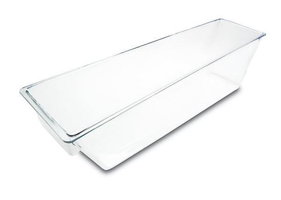"""Picture of Clear Plastic Food Bin  One Compartment 27""""x6.5""""x7"""""""