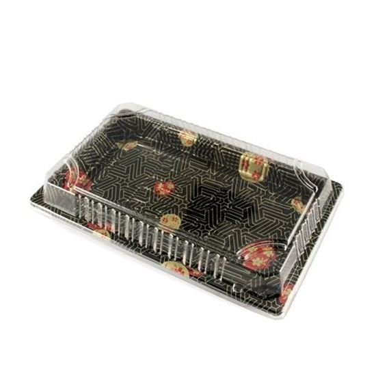 "Picture of 8oz Sushi Tray Combo 1500set (6.5"" x4.5"" x 0.75"")"
